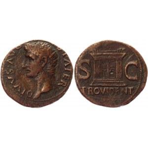 Roman Republic As 22 - 23 AD, Augustus