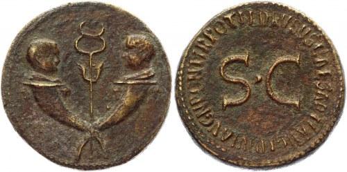 Roman Republic Sestertius 22 - 23 AD, Tiberius Collectors Copy