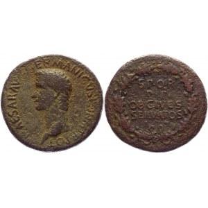 Roman Empire Sestertius 37 - 38 AD, Caligula