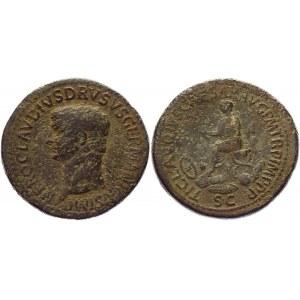 Roman Empire Sestertius 41 - 54 AD, Claudius