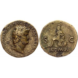 Roman Empire Sestertius 65 AD, Nero