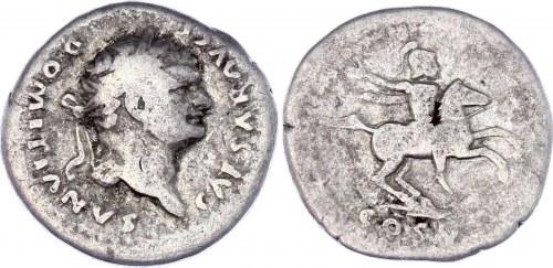 Roman Empire Denarius 81 - 96 (ND) Domitian