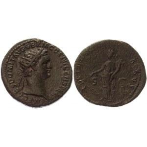 Roman Empire Dupondius 92 - 94 AD, Domitian
