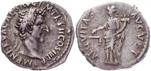 Roman Empire Denarius 96 AD, Nerva