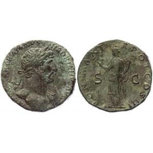 Roman Empire Sestertius 119 - 120 AD, Hadrian