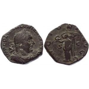 Roman Empire Sestertius 253 - 260 AD, Valerian I