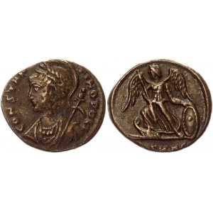 Roman Empire Constantinopolis AE Follis 335 - 337 AD, Antioche