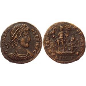 Roman Empire Follis 348 - 350 AD, Constans