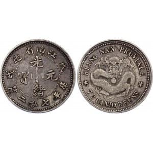 China Kiangnan 10 Cents 1898 (ND)
