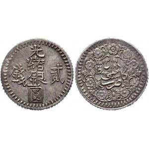 China Sinkiang 2 Mickals 1894