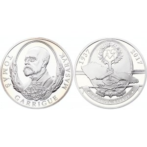 Czech Republic Medal 80th Anniversary of the Death of Tomáš Garrigue 2017