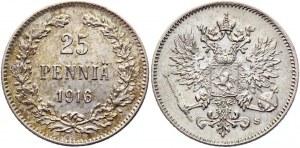 Russia - Finland 50 Pennia 1916 S