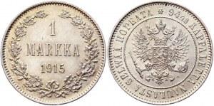 Russia - Finland 1 Markka 1915 S
