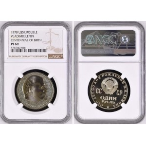 Russia - USSR 1 Rouble 1965 NGC PF 68