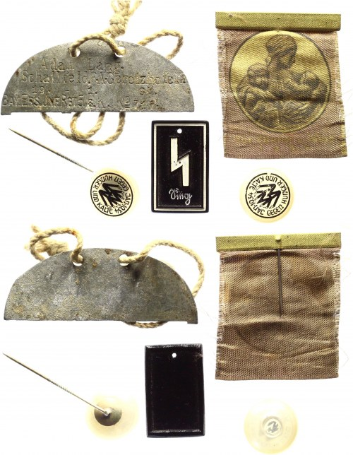 Germany - Third Reich Lot of 12 Badges & Tokens 1933 - 1945