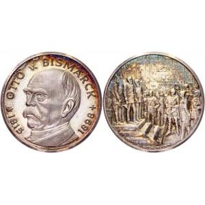 Germany - FRG Silver Medal Otto von Bismarck 1971