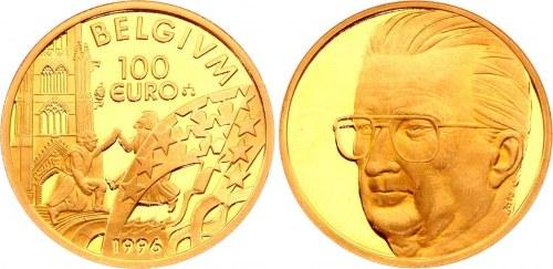 Belgium 100 Euro Gold Medal 1996