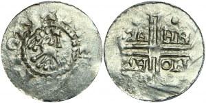 Netherlands Utrecht Denarius 1047 - 1050 Hermann von Wehrl