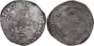 Netherlands Holland Lion Daalder 1606 - 1697 (ND)