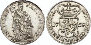 Netherlands Holland 1/4 Gulden 1759