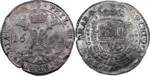 Spanish Netherlands Brabant 1 Patagon 1661 (+VIDEO)