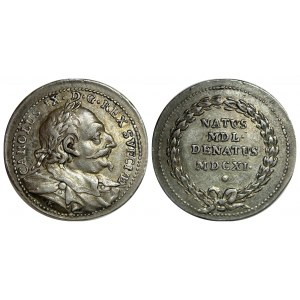 Sweden Birth - Death of Charles IX Silver Medal 1786 - 1787 (ND)