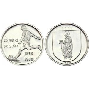 Switzerland FC Stafa Silver Medal 1970
