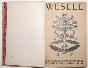 Wyspiański S., WESELE [okładki broszurowe] wyd. 4