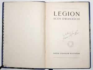 Wyspiański S., LEGION scen dwanaście wyd. 3 (wariant 3)