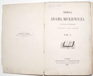 Mickiewicz A., DZIEŁA - HISTORIA POLSKA, 1880