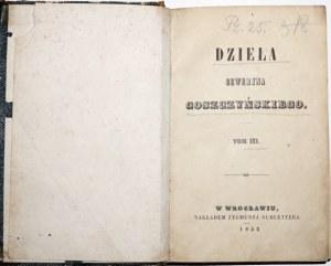 Goszczyński S., DZIEŁA, Wrocław 1852