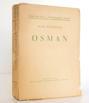 Gundulić I., OSMAN [Wojna Chocimska], 1934, ilustracje