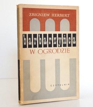 Herbert Z., BARBARZYŃCA w OGRODZIE [wyd.1] [Heidrich]