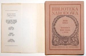 Schulz B., OPOWIADANIA wybór esejów i listów [wyd.1]