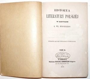 Wójcicki K., HISTORYA LITERATURY POLSKIEJ, 1859