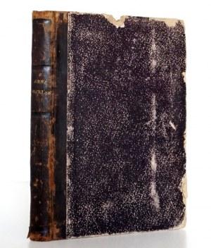Zieliński W.K., ANNA ORZELSKA powieść z czasów Augusta II, t.1-2 [komplet], Lwów 1881