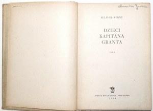 Verne J., DZIECI KAPITANA GRANTA t.1-3 [komplet] [Zarzycki, Jodłowski, Makowski, Ryłko]