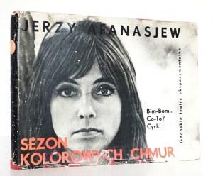 Afanasjew J., SEZON KOLOROWYCH CHMUR [gdański teatr] [Ronczewska-Afansajew, Leciej]