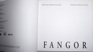Fangor, PRACE NA PAPIERZE w kolorze. Works on Paper in Color. [ładny egz.]