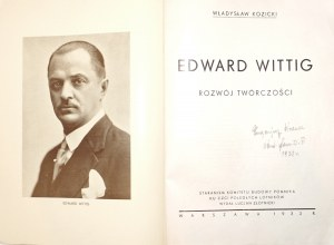 Kozicki W., EDWARD WITTIG rozwój twórczości, 1932