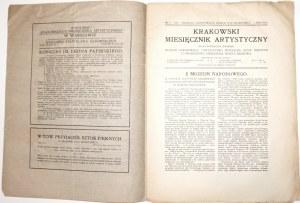KRAKOWSKI MIESIĘCZNIK ARTYSTYCZNY 3/1911