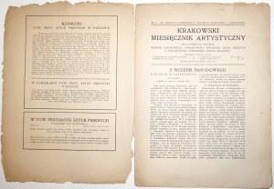 KRAKOWSKI MIESIĘCZNIK ARTYSTYCZNY 9/1911