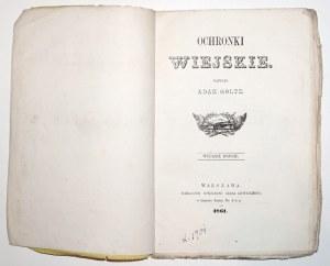 Goltz A., OCHRONKI WIEJSKIE, 1861