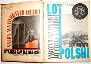 LOT I OBRONA PRZECIWLOTNICZA-GAZOWA POLSKI, rocznik 1936 [okładki!]