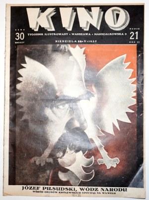 [Piłsudski], KINO 1935, numer 'żałobny' całkowicie poświęcony J.Piłsudskiemu