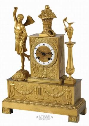 Zegar kominkowy, 2 poł. XIX w.