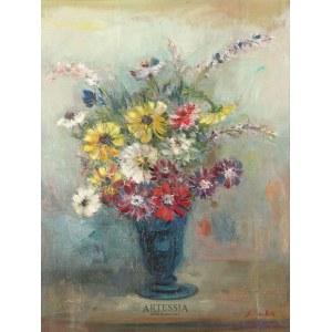 Jakub Cukier (Jacques Zucker) (1900-1981), Kwiaty w wazonie
