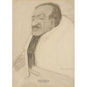 Tadeusz Waśkowski (1883-1966), Portret Tytusa Czyżewskiego, 2 ćw. XX w.