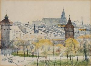 Stanisław Podgórski (1882-1963), Mury Krakowa, 1911