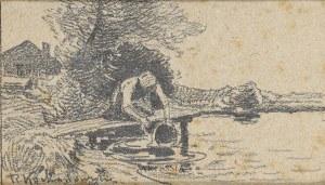 Roman Kochanowski (1857-1945), Nad wodą